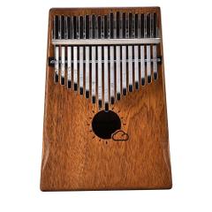 Key Kalimba Mbira Calimba African Solid Mahogany Thumb Piano