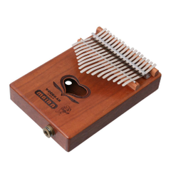 Keys C Tone Kalimba MBIRA Thumb Piano Build In Pickup W End Pin