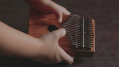 Playing chords on Kalimba It is an African musical instrument