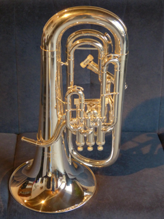 Brass Instrument Euphonium Instrument music gold colored