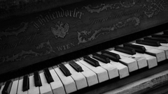 Black And White Sacred Piano Wallpapers Picture Wallpapers