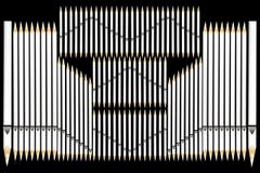 Wallpapers Pencils organ pipes Closeup