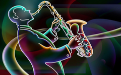 Playing A Trumpet Graffiti wallpapers wallpapers