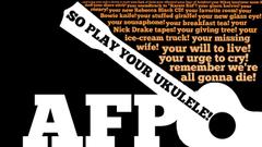 Typography lyrics amanda palmer ukulele anthem wallpapers