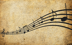 Vintage Music Note Image Click Wallpapers