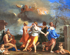 Poussin Nicolas French Baroque Classical Art Dance To The Music