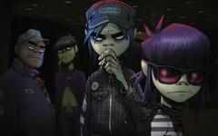 wallpapers Gorillaz art characters English virtual band