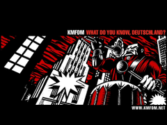 Music bands album covers KMFDM Industrial music wallpapers