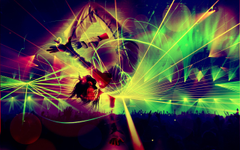 party dance psychedelic rave dancing mix