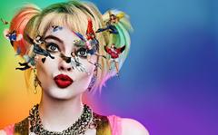 Desktop Wallpapers Margot Robbie Harley Quinn hero Birds of Prey