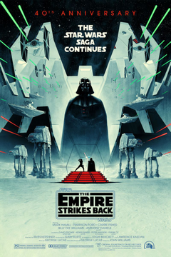 The Empire Strikes Back gets a striking new poster for its 40th anniversary