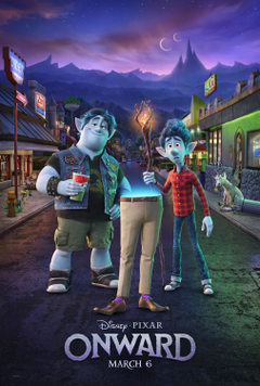 Disney and Pixar s Onward New Trailer Poster and Image