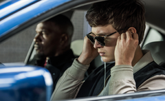 Wallpapers Baby Driver Ansel Elgort Jamie Foxx 8k Movies
