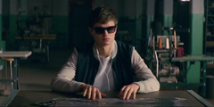 Baby Driver Star Cast as Young John F Kennedy