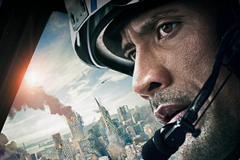 Picture Dwayne Johnson Men San Andreas Face Movies Glance Cities