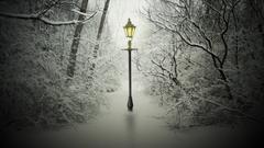 Narnia Lamp Post Wallpapers