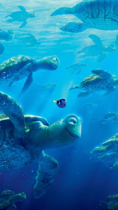 Finding Dory able Wallpapers for iOS Android Phones
