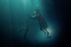 The Shape of Water from Guillermo del Toro is a beautiful adult