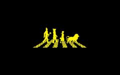 Abbey Road yellow Wizard Of Oz The Beatles bricks oz