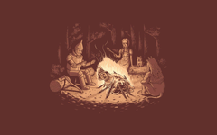 Wizard of Oz Campfire 1920x1200 wallpapers