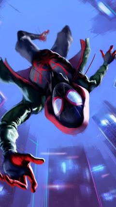 Miles Morales in Spider