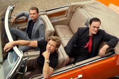Quentin Tarantino Brad Pitt and Leonardo DiCaprio Take You Inside