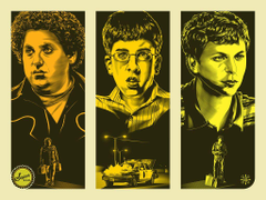 Jeff Boyes Superbad Poster and others on sale