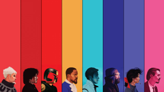 Colorful Judge Dredd Django Unchained Zoolander Drive The Thing