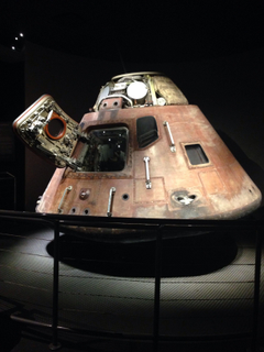Apollo 13 capsule at Kennedy Space Center