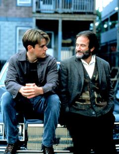 Matt Damon and Robin Williams in Ben Affleck Matt Damon s Good