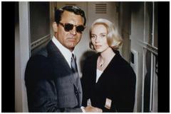Cary Grant and Eva Marie Saint