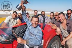 Ford v Ferrari Image Christian Bale and Matt Damon Team