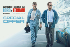 Show Your Ford v Ferrari Ticket for a Race Discount