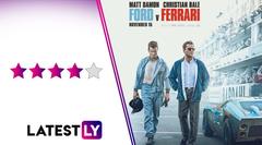 Ford v Ferrari Movie Review Christian Bale Matt Damon Set