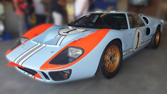 GT40 signed by Ford v Ferrari stars to be auctioned for