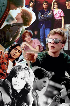 The breakfast club collage Haha