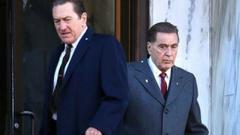 Al pacino recent image Image of Al Pacino Leonardo DiCaprio and