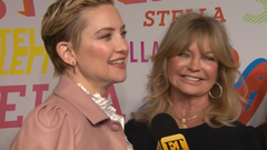 Kate Hudson Recalls Funny Moment When Goldie Hawn Visited