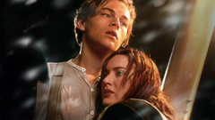 Leonardo DiCaprio and Kate Winslet in Titanic Wallpapers