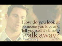 The vow Such a sad quote