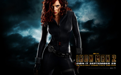 Natasha Romanoff from Iron Man 2 Desktop Wallpapers