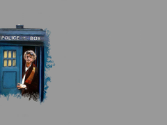 x500 doctor who back to the future Twitter Header Photo