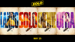 New character poster for Solo A Star Wars Story StarWars