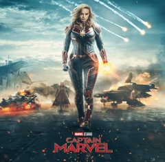 The first image from Captain Marvel were shared