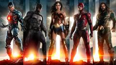 UHD 8K Justice League Movie Members