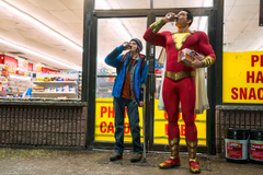 Zachary Levi And Asher Angel In Shazam Movie HD Movies 4k