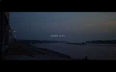 Gone Girl opening titles