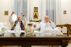 Netflix s The Two Popes review Hopkins and Pryce overcome