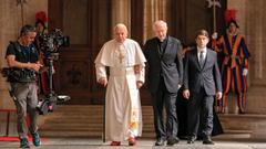 Making of The Two Popes Director Fernando Meirelles Cast