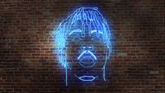 Made a neon art desk wallpapers to remember him always 1920x1080
